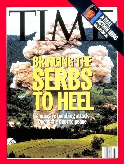 Time - Bringing the Serbs to heel.